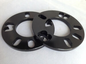 2x 5mm New Universal Wheel Spacers// Shims 4 or 5 Stud for Lexus Cars Set of