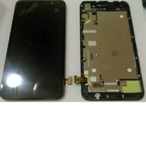 LCD DISPLAY TOUCH FRAME COMPLETO PER HUAWEI ASCEND Y6 NERO touchscreen vetro