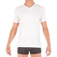 Tommy Hilfiger Men 3 Whites V-neck Undershirt Top Size S 100 Cotton Y14