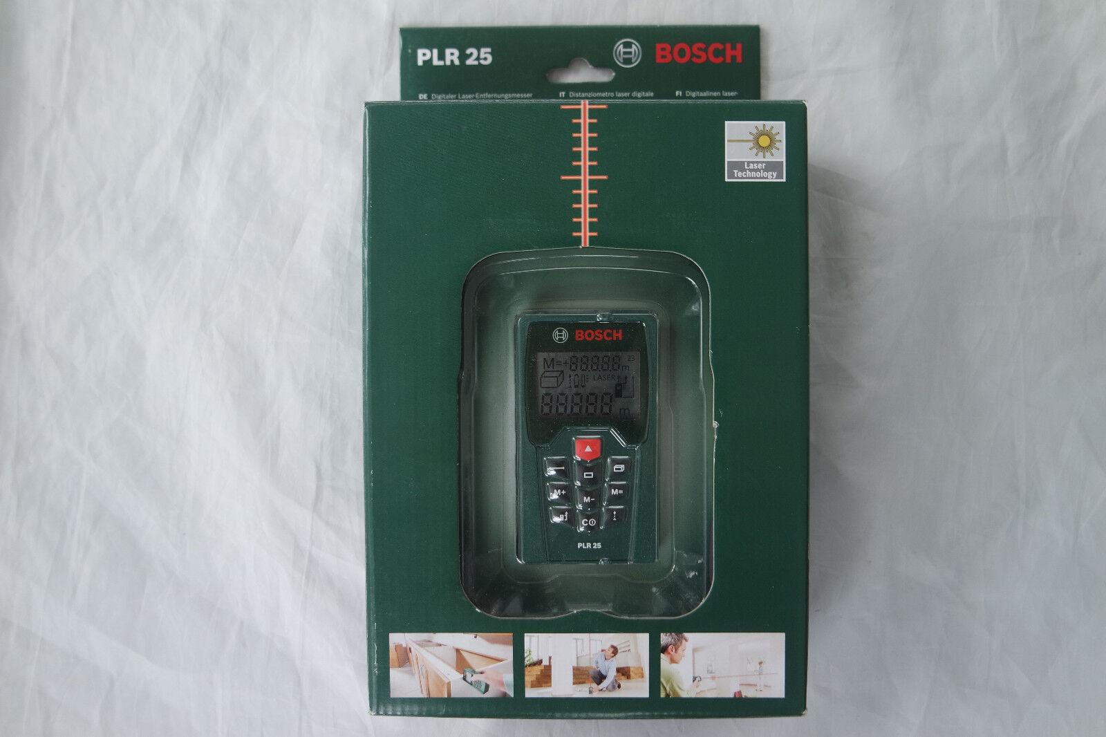 Bosch Plr 25 Laser Entfernungsmesser Test : Bosch plr laser entfernungsmesser: entfernungsmesser