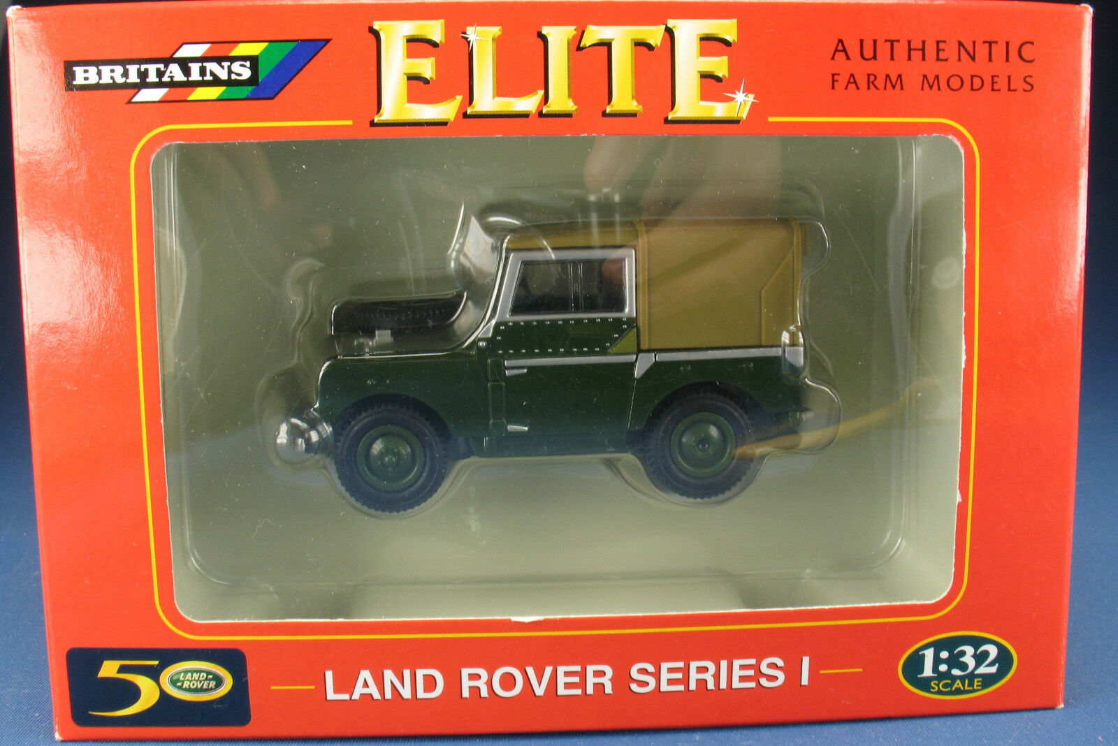 BRITAINS 00174-Land Rover-Series I - 1 32 - NEUF dans neuf dans sa boîte NEW IN BOX