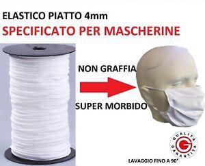 ELASTICO-MORBIDO-PIATTO-TUBOLARE-BIANCO-o-NERO-specifico-non-graffia