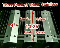 Charmglow Model 810-9210-f 810-9210f Thick Stainless Flame Tamer Plates 14&1/4