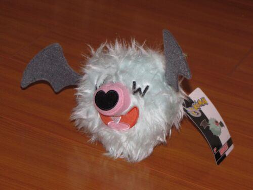 WOOBAT Pokemon Black /& White Wave 2 Bat Stuffed Mini Plush Jakks Pacific NWT NEW