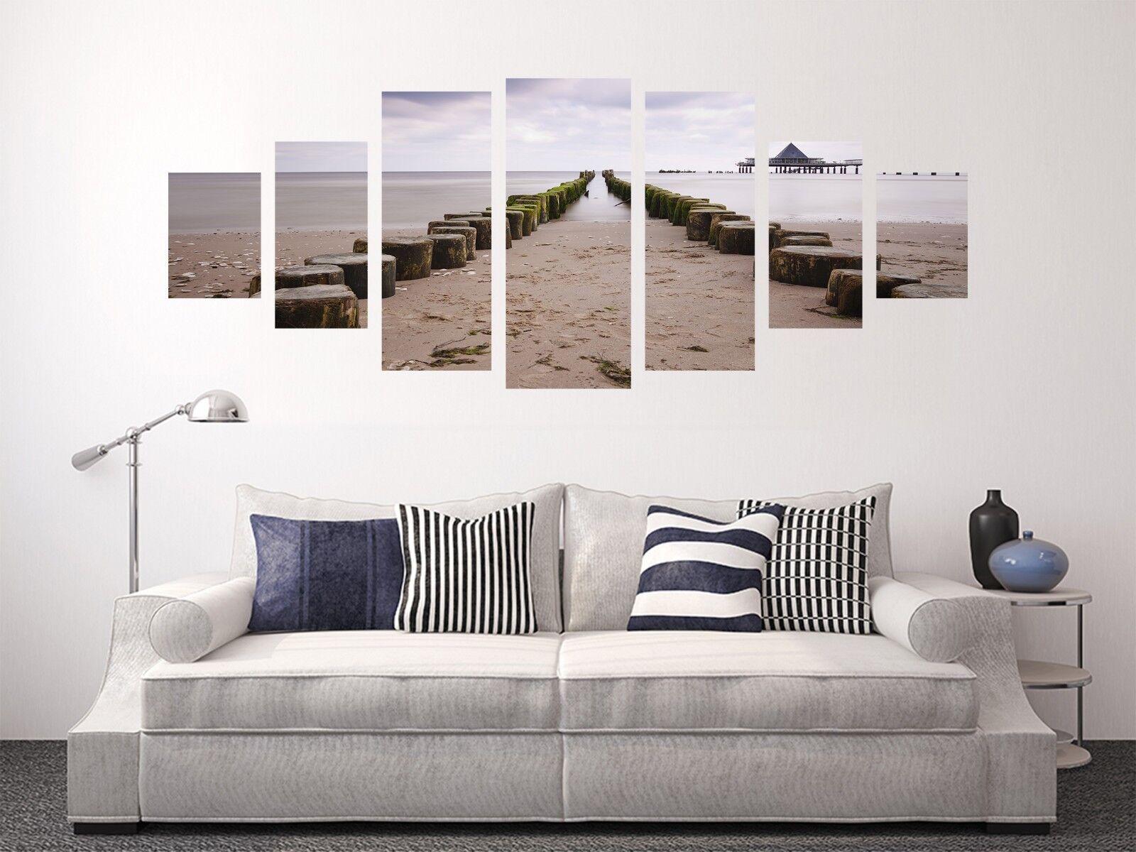 3D Beach Stone 72 Unframed Print Wall Paper Decal Wall Deco Indoor AJ Jenny