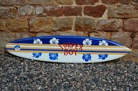 Deko Surfboard Beidseitig Lackiert 180cm / Su 180 R5 D / Surfbrett Surfbretter
