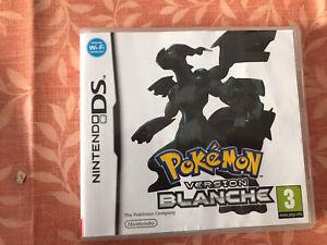 Jeu De Nintendo Ds Pokemon Blanche Avec Boite