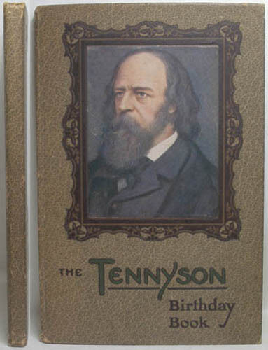 1908 TENNYSON BIRTHDAY BOOK A DIARY WITH COLOUR PLATES   BY HENRY BOWSER WIMBUSH