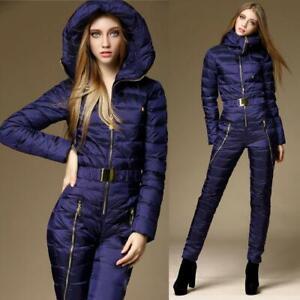 Womens-Duck-Down-Waterproof-Ski-Suits-Snowboard-Slim-Sportswear-Slim-Jumpsuits