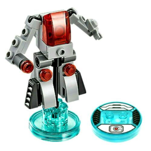 *LEGO Dimensions Cyber-Guard /& Cyborg Toy Tag 71210 Wii U PS3 PS4 Xbox One 360