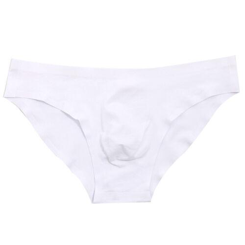 Herren Slips Unterwäsche Nahtloses Höschen 3D BeutelBaumwolle Modal Unterhose