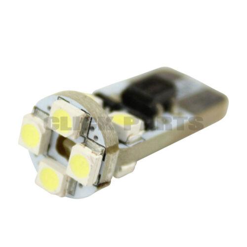 2 X LED 501 Canbus Enabled White Sidelight Bulbs CAR BULBS