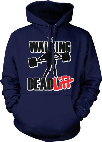 The Walking Deadlift Weight Lifting Funny Humor Pun Joke TV Show Hoodie Pullover