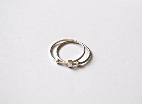 Anxiety Ring Sterling Silver 925