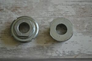 Vintage-MI-Steel-English-Threaded-1-37-x-24TPI-Bottom-Bracket-Cups-Only