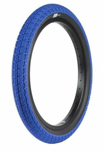 "SUNDAY BMX BIKE CURRENT TIRES BLUE//BLACK 20 x 2.40/"" PRIMO CULT ECLAT"