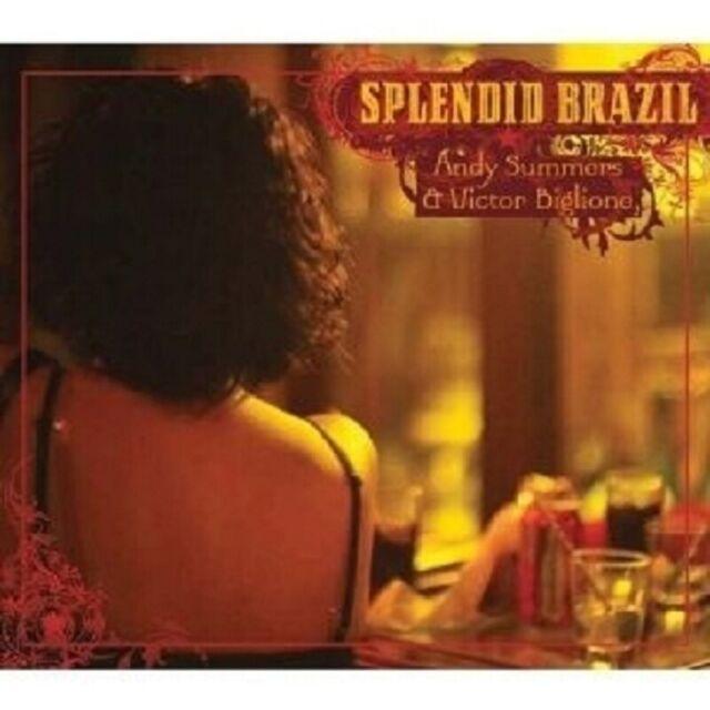 "A. SUMMERS & VICTOR BIGLIONE ""STRINGS OF BRASIL"" CD NEU"