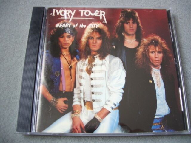 IVORY TOWER - heart of the city CD original release mega AOR melodic hardrock