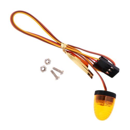 RC Rock Crawler LED Blinklichter Rotierende Polizeibeleuchtung Für Redcast HSP