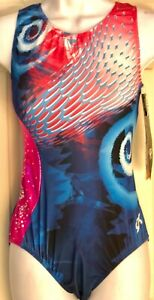 CIRQUE-DU-SOLEIL-GK-LEOTARD-ADULT-LARGE-ICEBERG-HEAT-TANK-GYMNASTICS-DANCE-AL