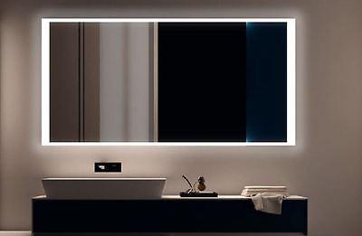 LED BAD SPIEGEL Badezimmerspiegel Badspiegel Wandspiegel Warmweiß S150