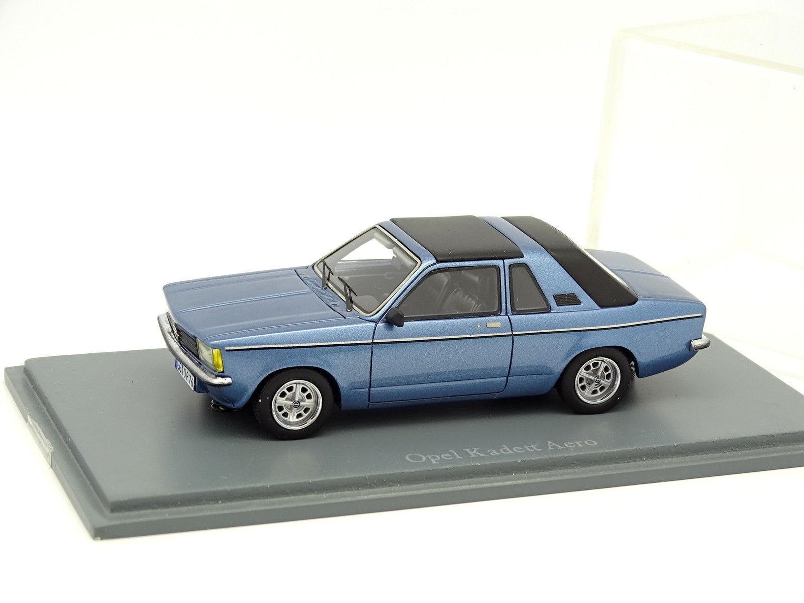 Neo 1 43 - Opel Kadett Aero Bleue