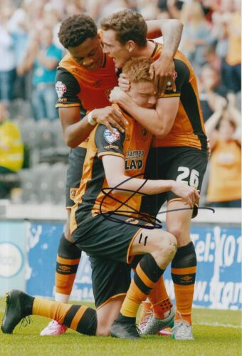 HULL CITY HAND SIGNED SAM CLUCAS 12X8 PHOTO 2.