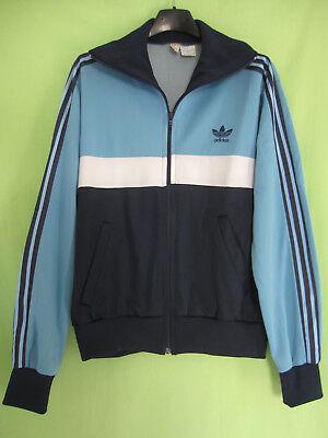 Jacket adidas ventex tricolore trefoil 70's sky navy vintage jacket 174m | eBay