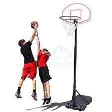 Portable Kids Youth Basketball Court Goal Hoop Pool Indoor Adjustable Rim New