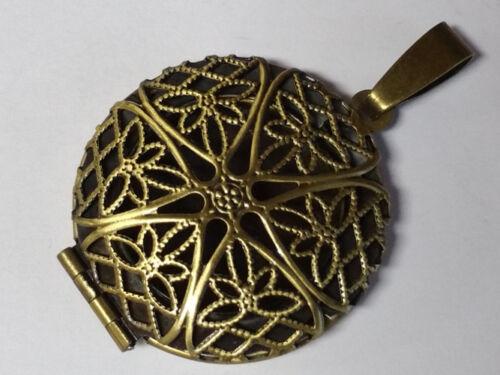 2 x remolque Antik medallón para fotografía depósitos Ø 19 mm