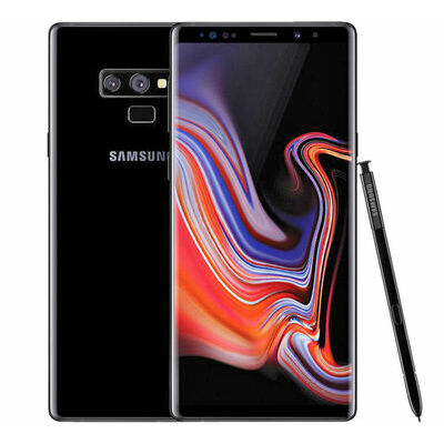 SAMSUNG GALAXY NOTE 9 N9600 DS 128GB DUAL SIM BLACK FACTORY UNLOCKED SMARTPHONE