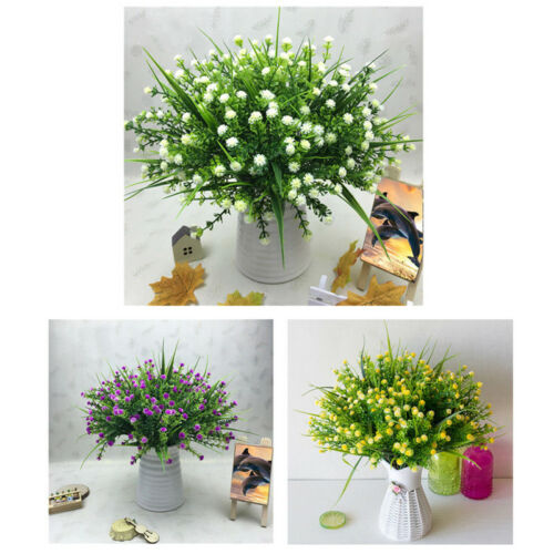 Artificial Plant Babys Breath Gypsophila Flower Bouquet Wedding Party Home Decor