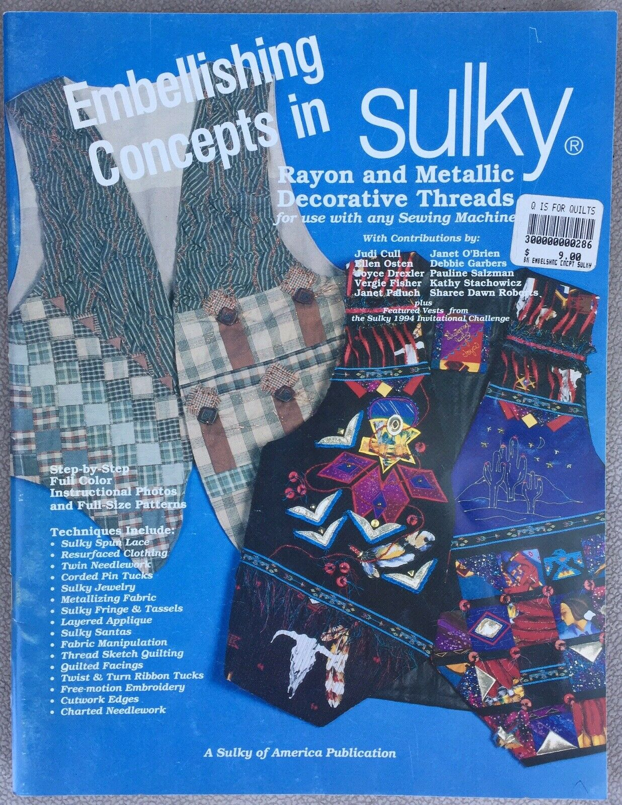Fashion For Use with any Sewing Machine Home Decor Embroidery Concepts in Sulky Decorative Thread