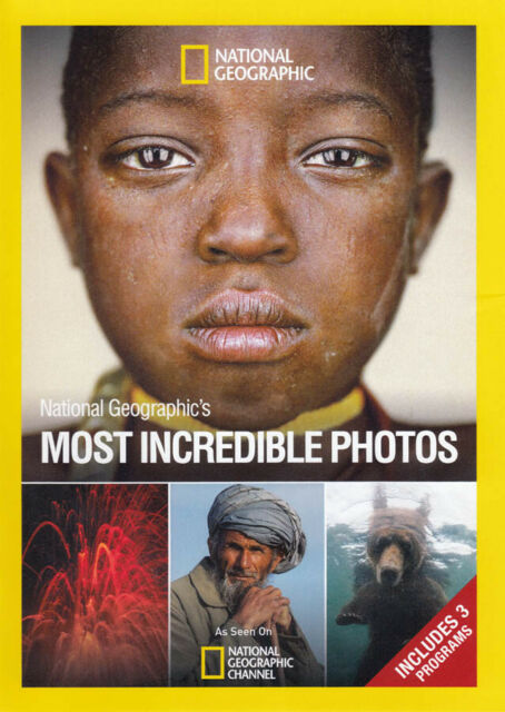 National Geographics Most Incredible Photos Dvd 2010 For Sale Online Ebay