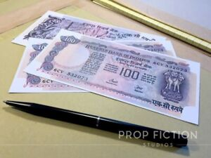 James-Bond-007-Octopussy-3-x-Prop-Fictional-Bank-of-Indapur-Money-Banknotes