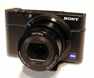 Sony Cyber-shot DSC-RX100 20.2 MP Digital Camera - Black