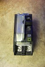 Square D QOB270VH Mini Circuit Breaker, With Visi-Trip Indicator, ( Metal Guard)