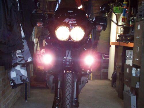 6000K LED Fog Lights Kit for Honda Africa Twin XRV750T CRF1000L