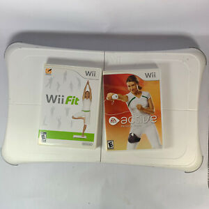 Nintendo Wii Fit Balance Board With Wii Fit Tested With Wii Fit And Wii Active