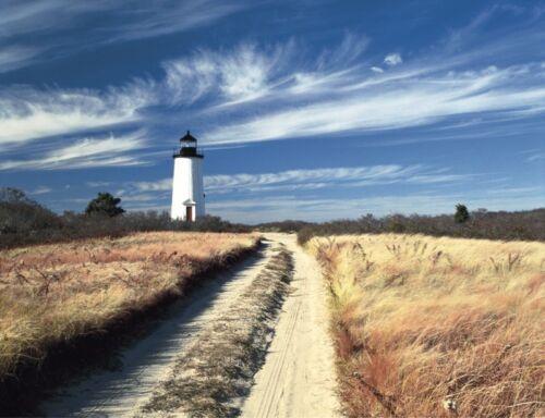 Cape Poge Lighthouse by Paul Rezendes Landscape Poster 11x14 PHOTO ART PRINT