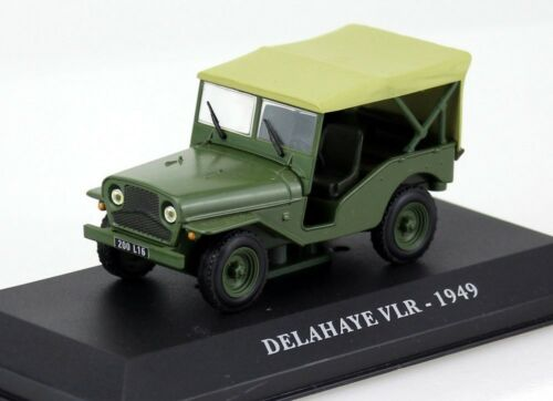 Rare 1//43 Delahaye VLR Jeep Cobra Editions Nuilly Sur Siene