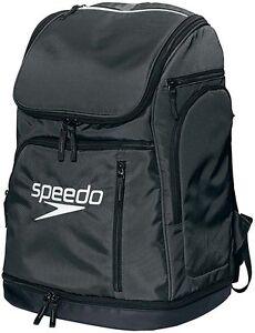 Speedo-Japan-Swim-Swimming-Swimmer-039-s-Pool-Bag-Back-Pack-SD96B01-New-Black-White