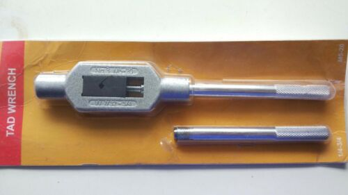 NEW  Adjustable Tap Handle /& Reamer Wrench M5 to M20 1//4-3//4