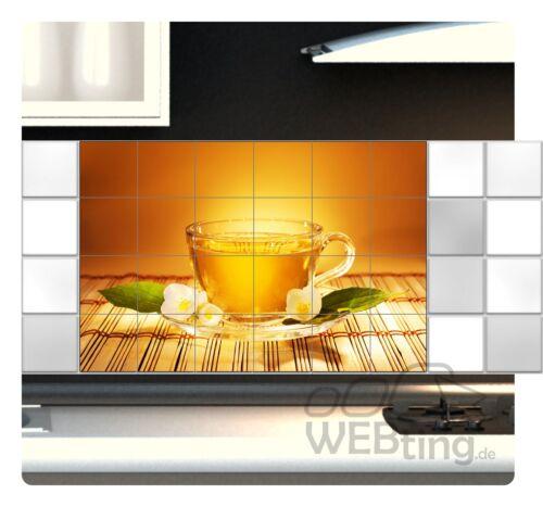 Fliesenaufkleber Fliesenbild Fliesen Aufkleber Sticker Tee Pause Küche Bild