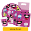 Disney-Minnie-Mouse-D-LISH-Birthday-Party-Range-Tableware-Supplies-Decorations thumbnail 1
