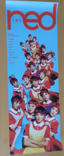 Red Velvet 1st album [The Red Unfolded Official Poster 1p] K-POP Idol D version
