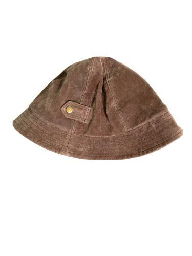 Nine & Company Brown Suede Bucket Hat