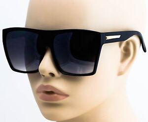 235db7706de7 Image is loading XXL-OVERSIZED-Womens-Sunglasses-Vintage-Aviator-Flat-Top-