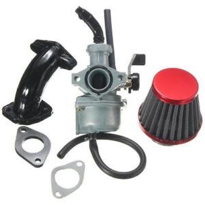 set Car Auto Carburetor 22mm Carb Air Filter Gasket Intake Pipe For Honda CRF50