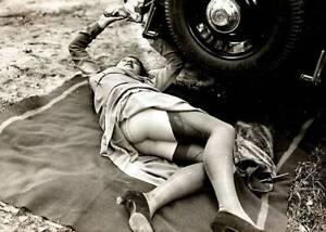 Antique-Roadside-Repair-Photo-766-Oddleys-Strange-amp-Bizarre